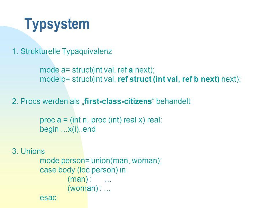 Typsystem