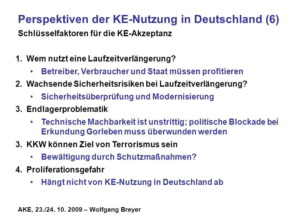 Perspektiven der KE-Nutzung in Deutschland (6)