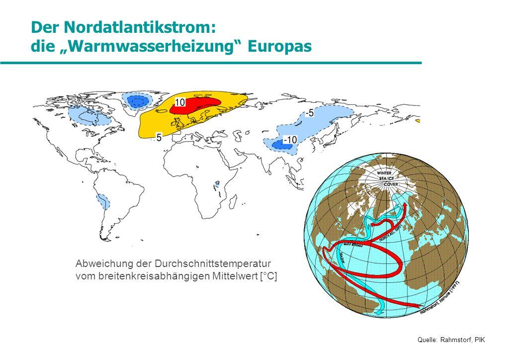 """Der Nordatlantikstrom: die """"Warmwasserheizung Europas"""