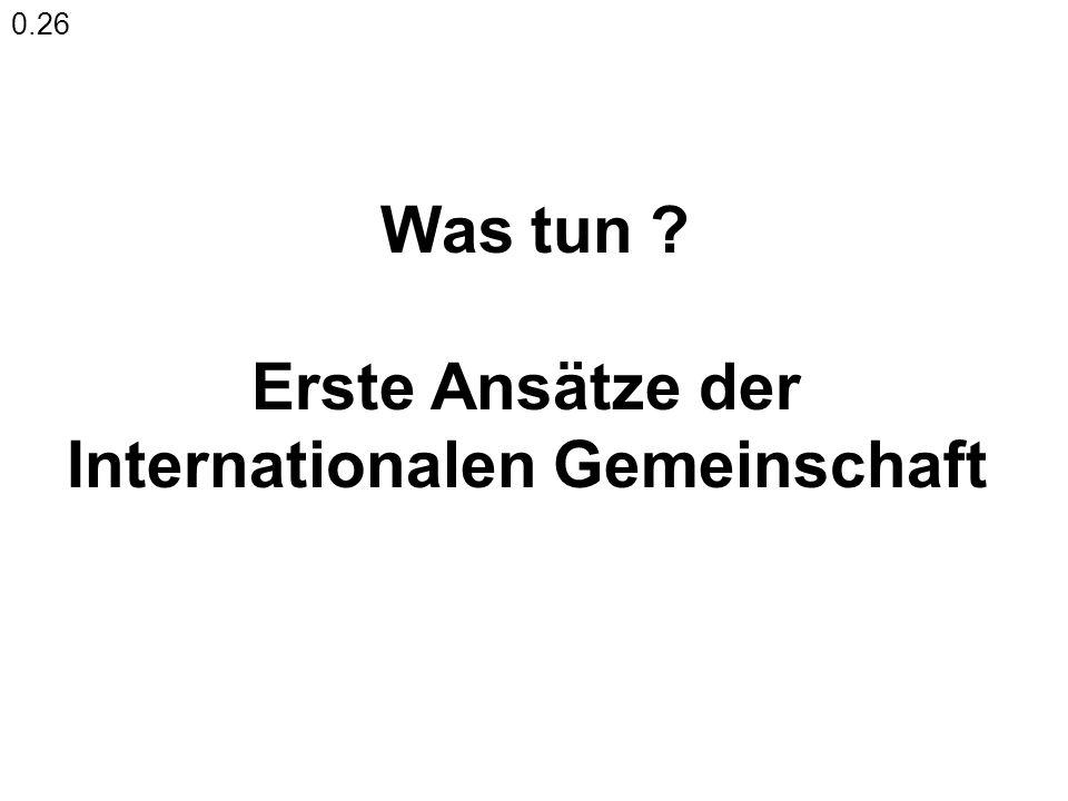 Internationalen Gemeinschaft