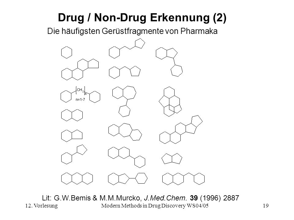 Drug / Non-Drug Erkennung (2)