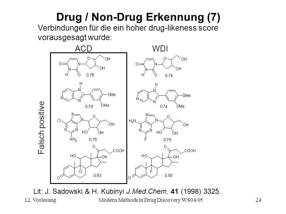 Drug / Non-Drug Erkennung (7)