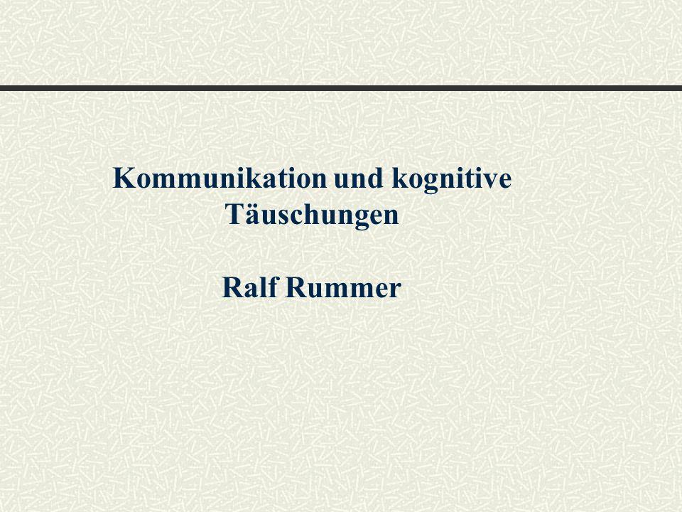 Kommunikation und kognitive