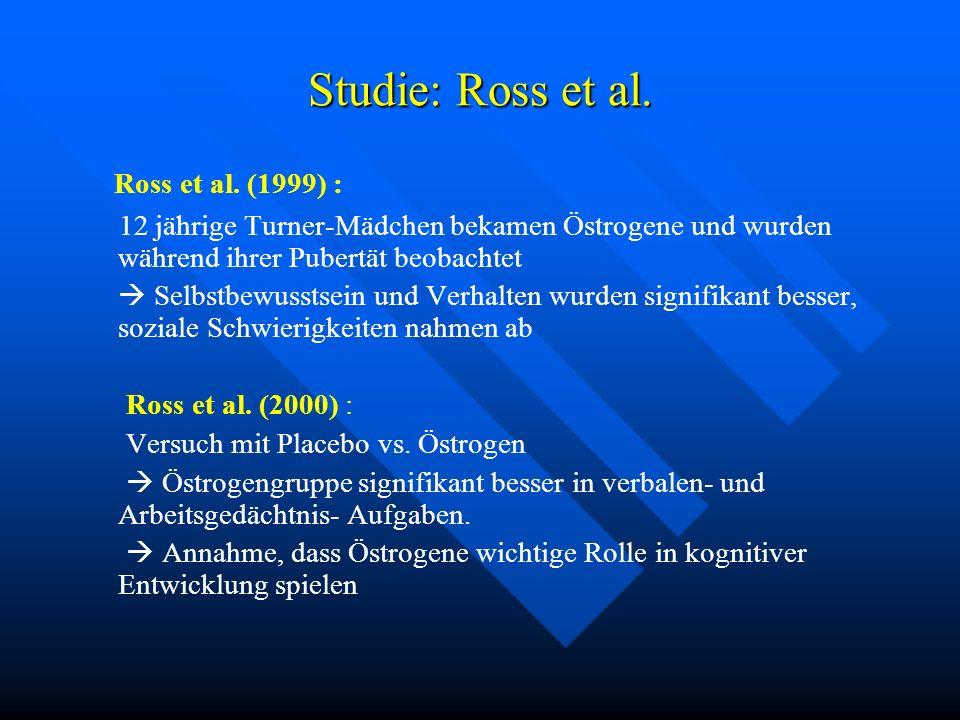 Studie: Ross et al. Ross et al. (1999) :