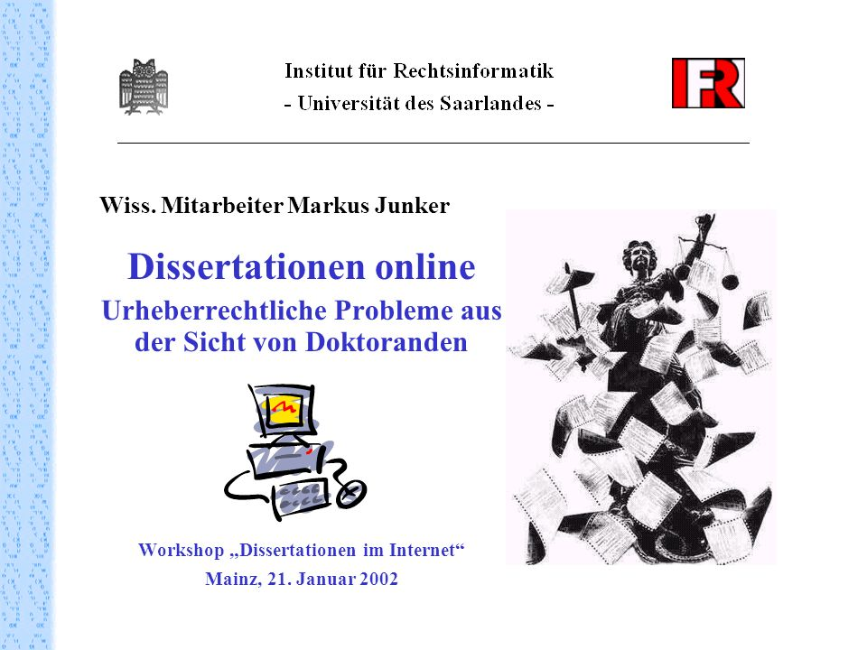Dissertationen online