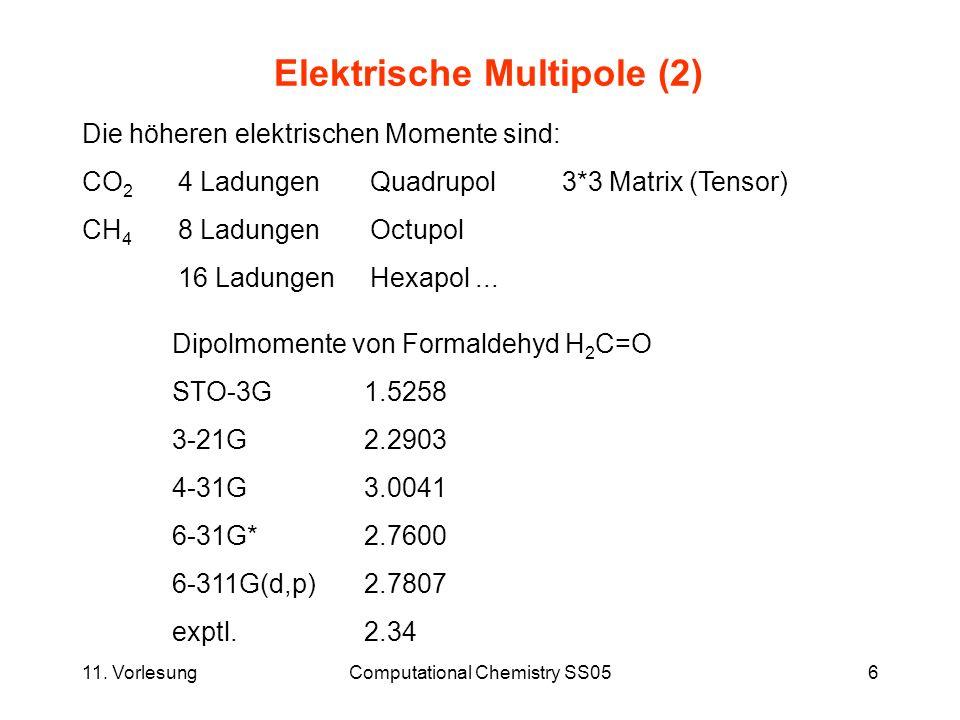 Elektrische Multipole (2)