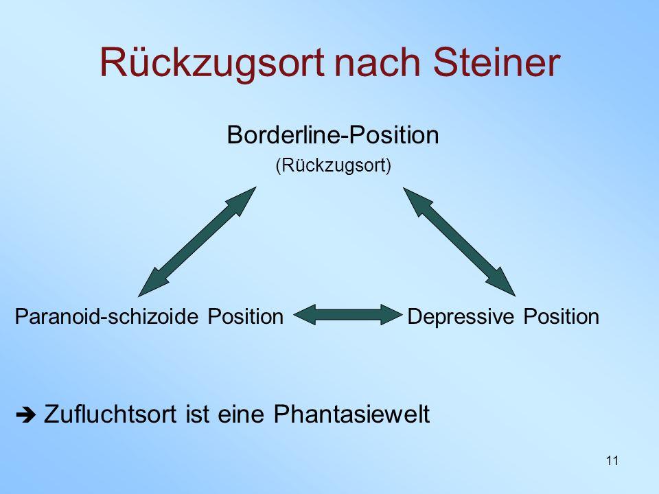 Rückzugsort nach Steiner