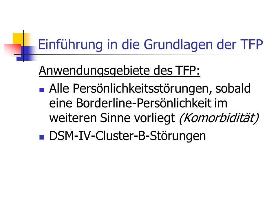 Einführung in die Grundlagen der TFP