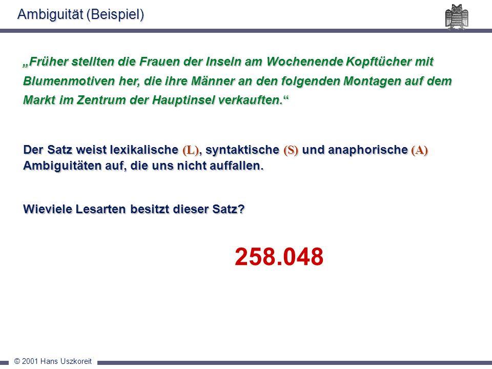 258.048 Ambiguität (Beispiel)