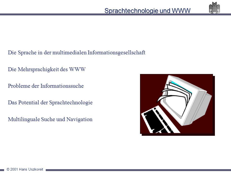 Sprachtechnologie und WWW