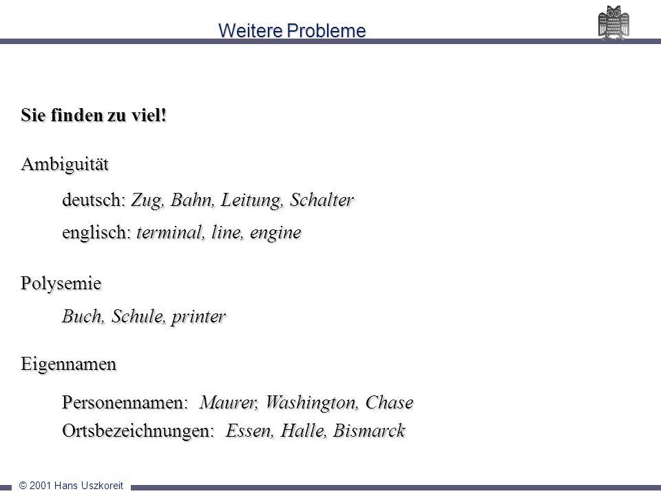 deutsch: Zug, Bahn, Leitung, Schalter englisch: terminal, line, engine