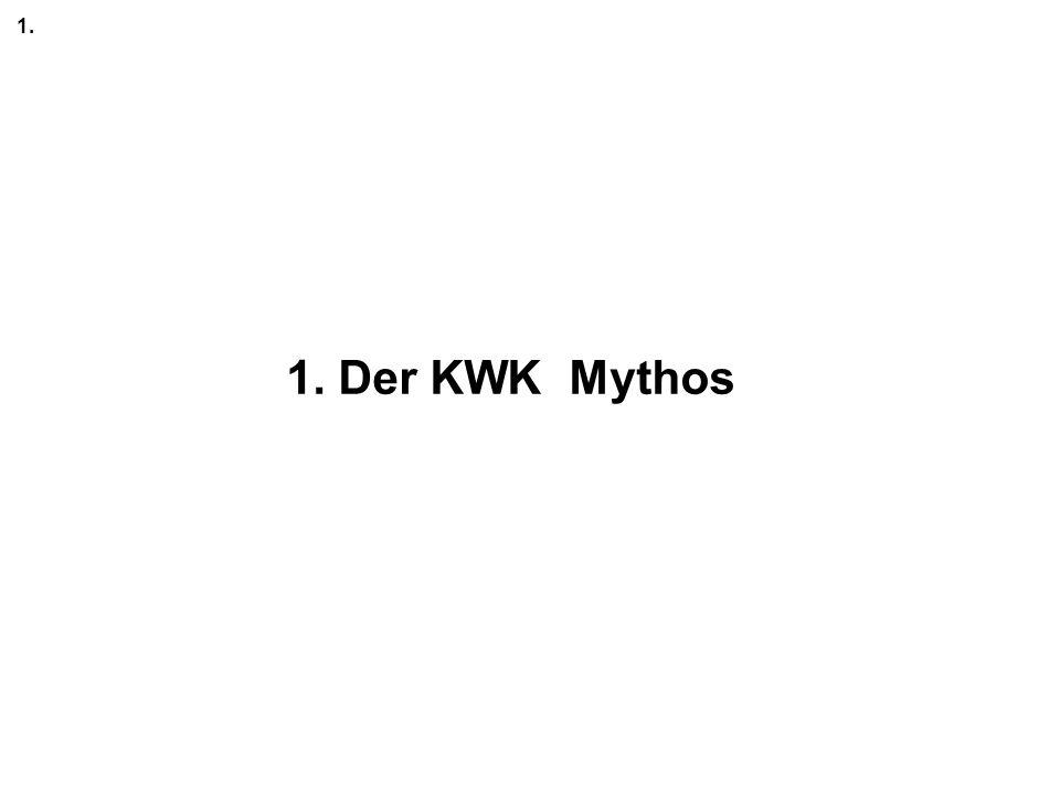 1. 1. Der KWK Mythos