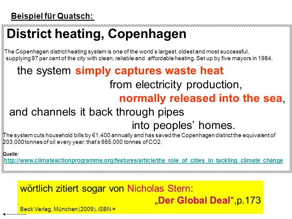 District heating, Copenhagen