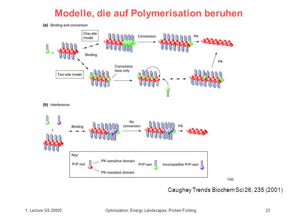 Modelle, die auf Polymerisation beruhen
