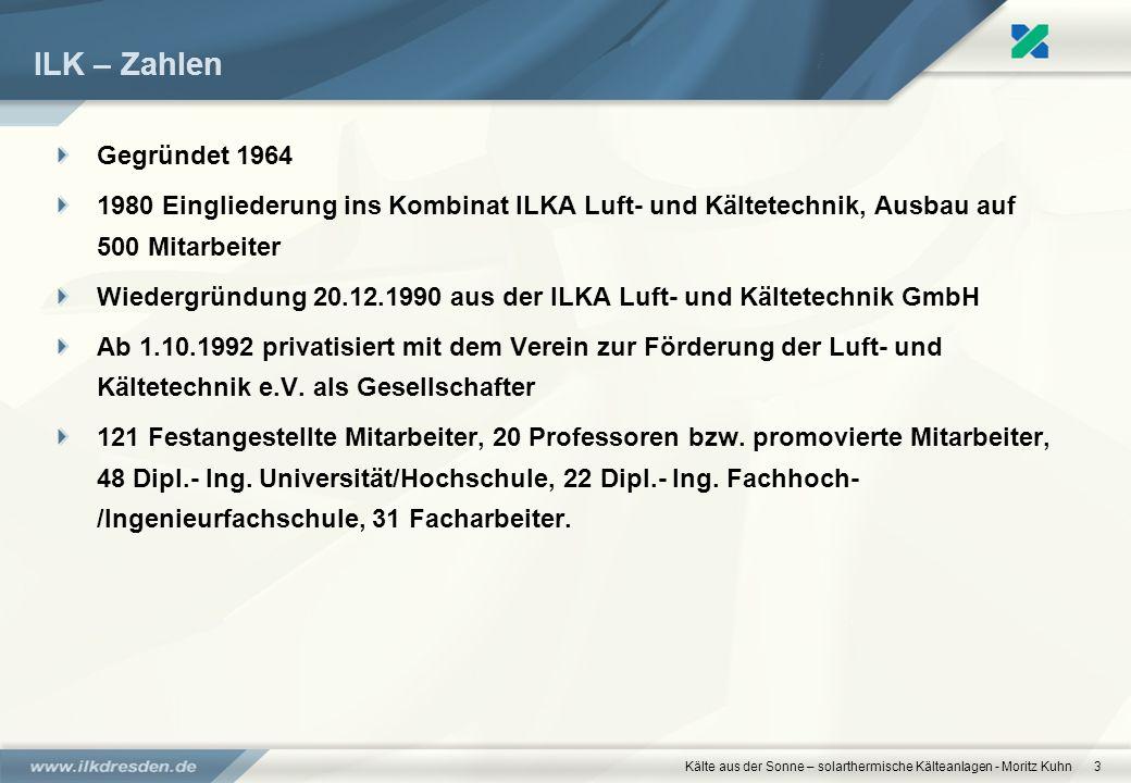 www.ilkdresden.de 27.03.2017. ILK – Zahlen. Gegründet 1964.