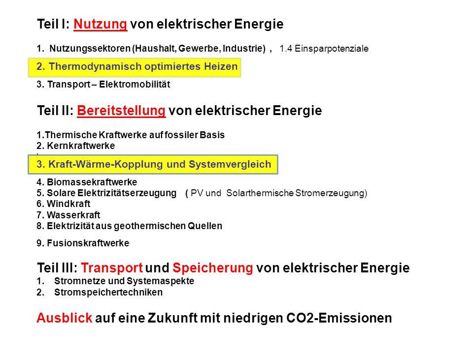 Teil I: Nutzung von elektrischer Energie