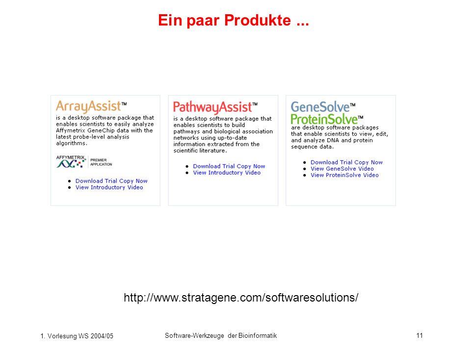 Ein paar Produkte ... http://www.stratagene.com/softwaresolutions/