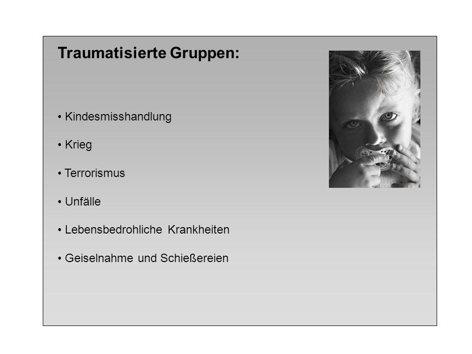 Traumatisierte Gruppen: