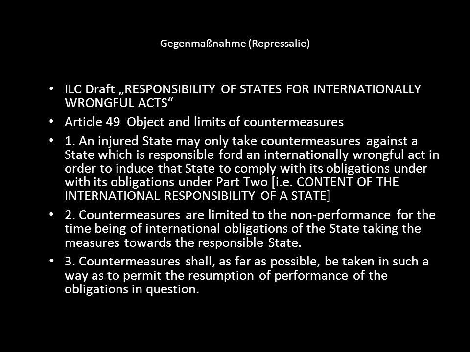 Gegenmaßnahme (Repressalie)