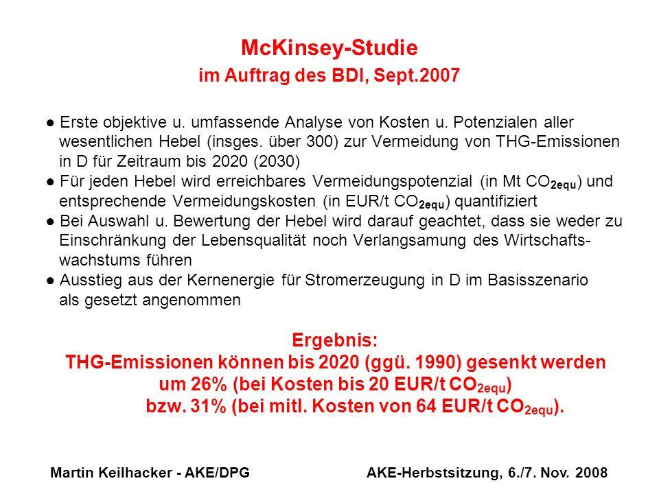 McKinsey-Studie im Auftrag des BDI, Sept.2007