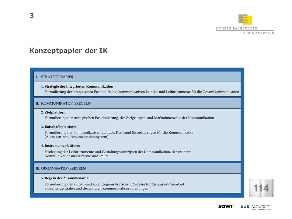 Konzeptpapier der IK 114