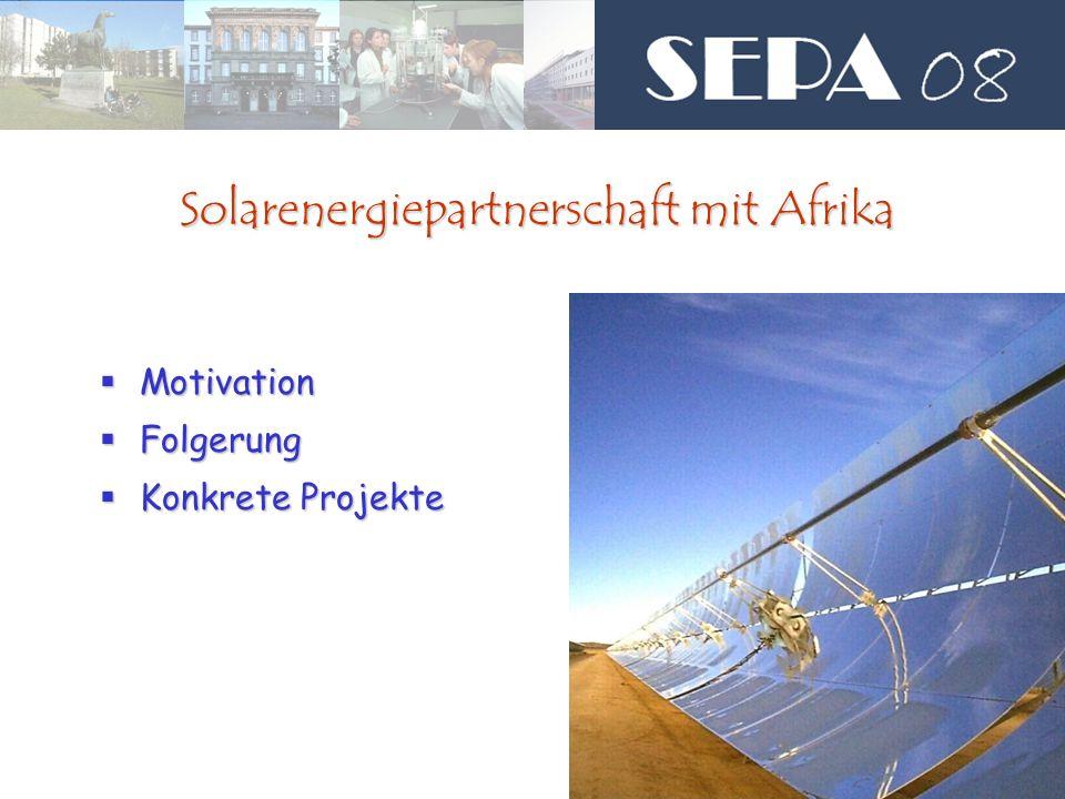 Solarenergiepartnerschaft mit Afrika