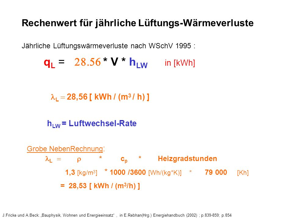 hLW = Luftwechsel-Rate