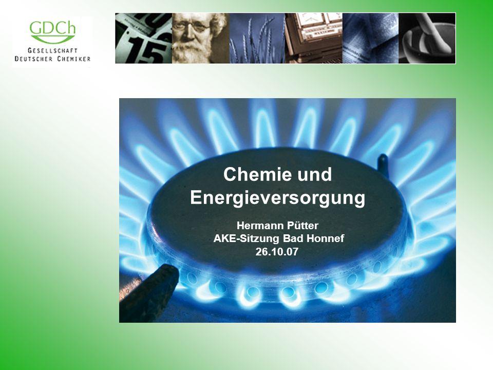 Chemie und Energieversorgung AKE-Sitzung Bad Honnef