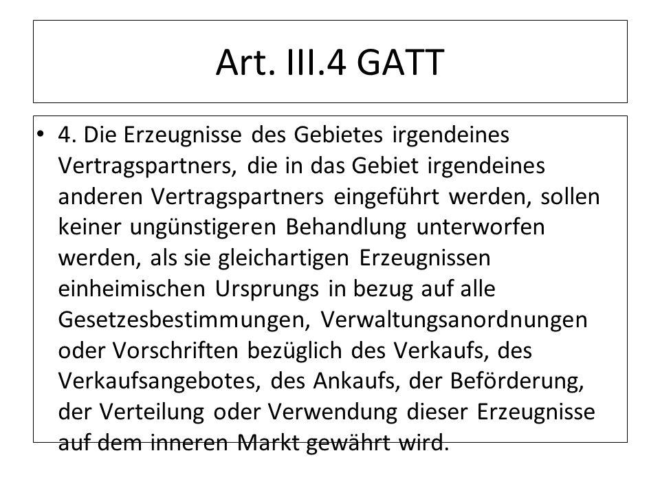 Art. III.4 GATT