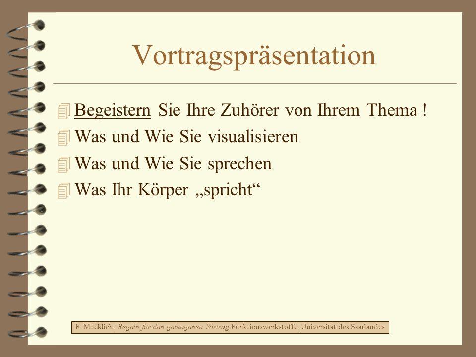 Vortragspräsentation