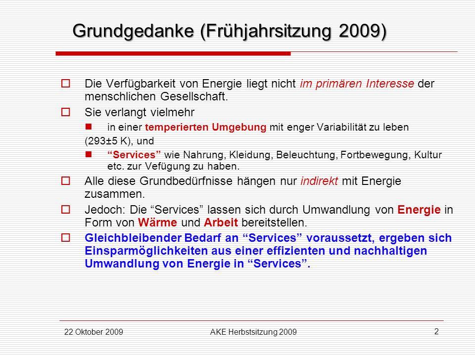 Grundgedanke (Frühjahrsitzung 2009)