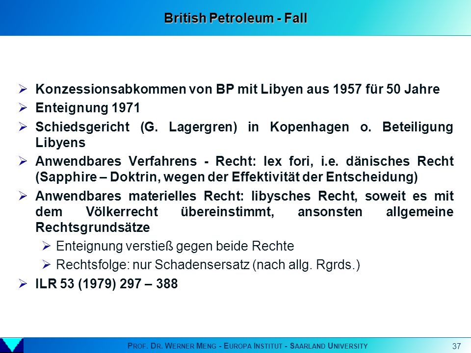 British Petroleum - Fall