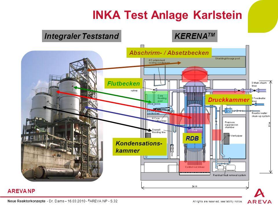 INKA Test Anlage Karlstein