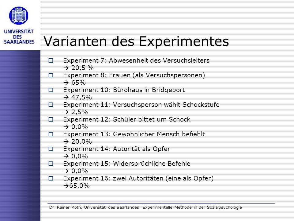 ziel milgram experiment