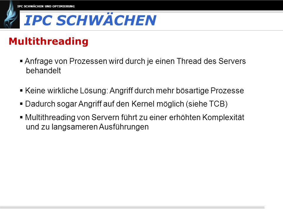 IPC SCHWÄCHEN Multithreading