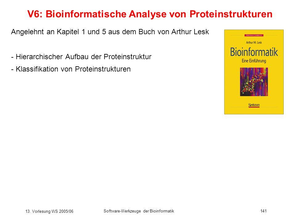 V6: Bioinformatische Analyse von Proteinstrukturen