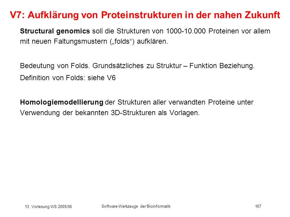 V7: Aufklärung von Proteinstrukturen in der nahen Zukunft