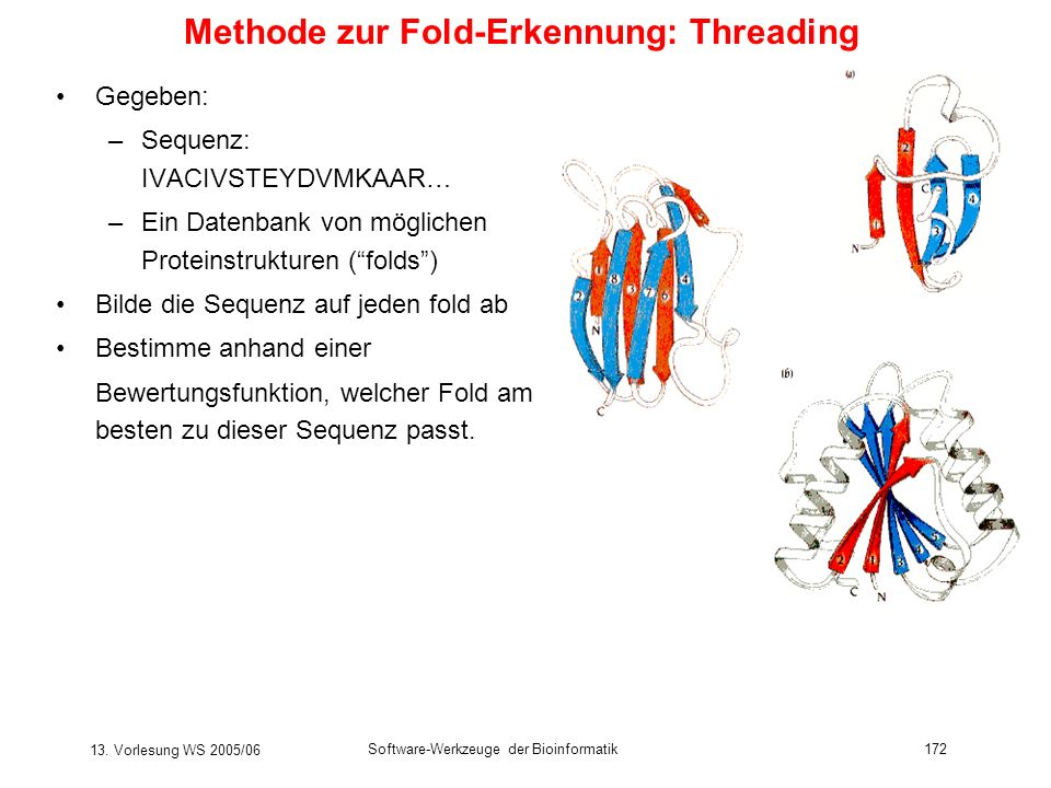 Methode zur Fold-Erkennung: Threading