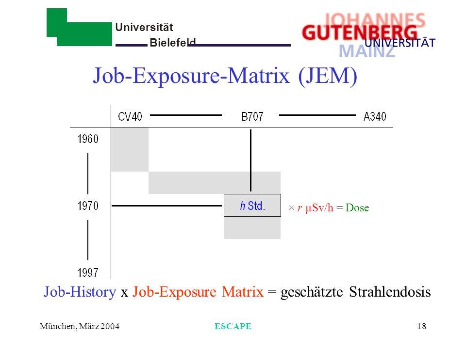 Job-Exposure-Matrix (JEM)