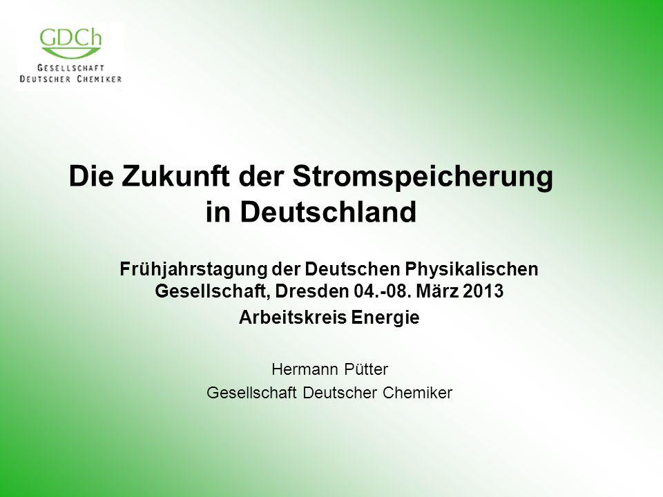 Die Zukunft der Stromspeicherung in Deutschland