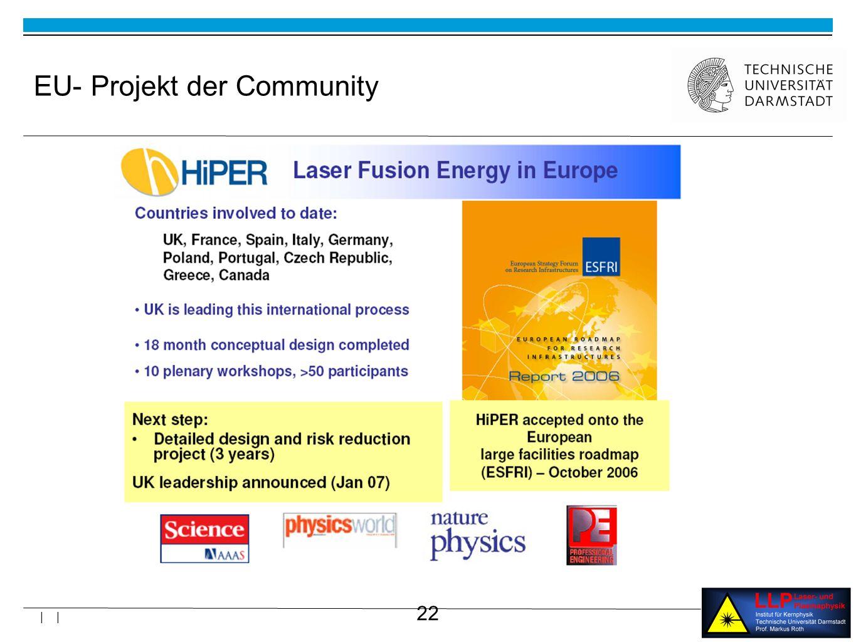 EU- Projekt der Community