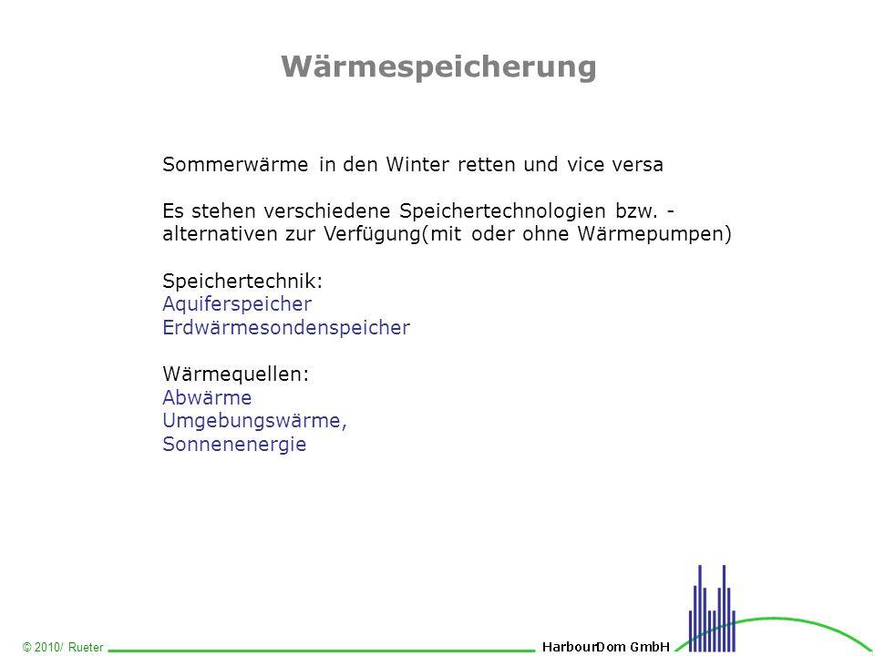 Wärmespeicherung Sommerwärme in den Winter retten und vice versa