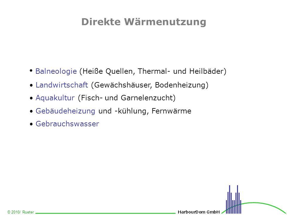 Balneologie (Heiße Quellen, Thermal- und Heilbäder)