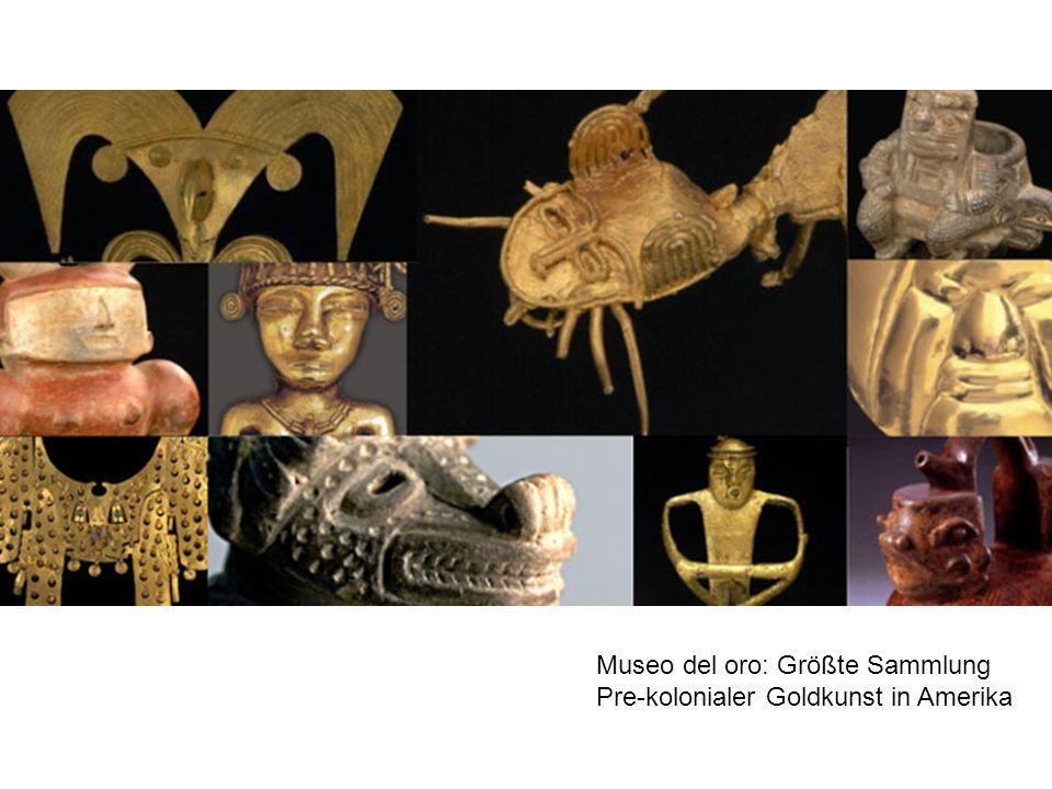 Museo del oro: Größte Sammlung
