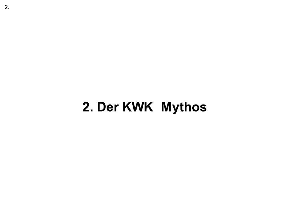 2. 2. Der KWK Mythos
