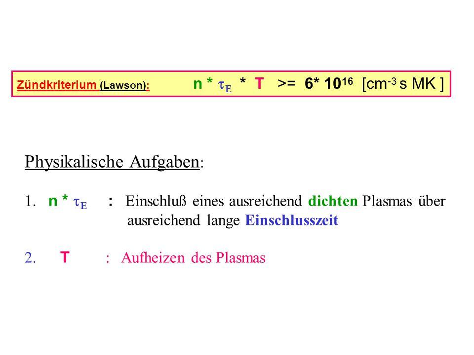 Physikalische Aufgaben: