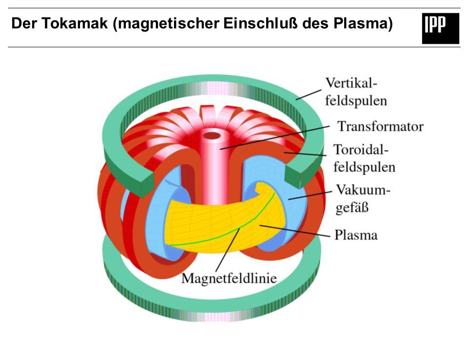 Der Tokamak (magnetischer Einschluß des Plasma)