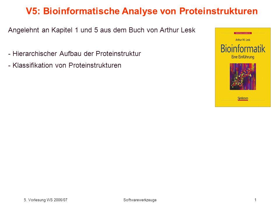 V5: Bioinformatische Analyse von Proteinstrukturen