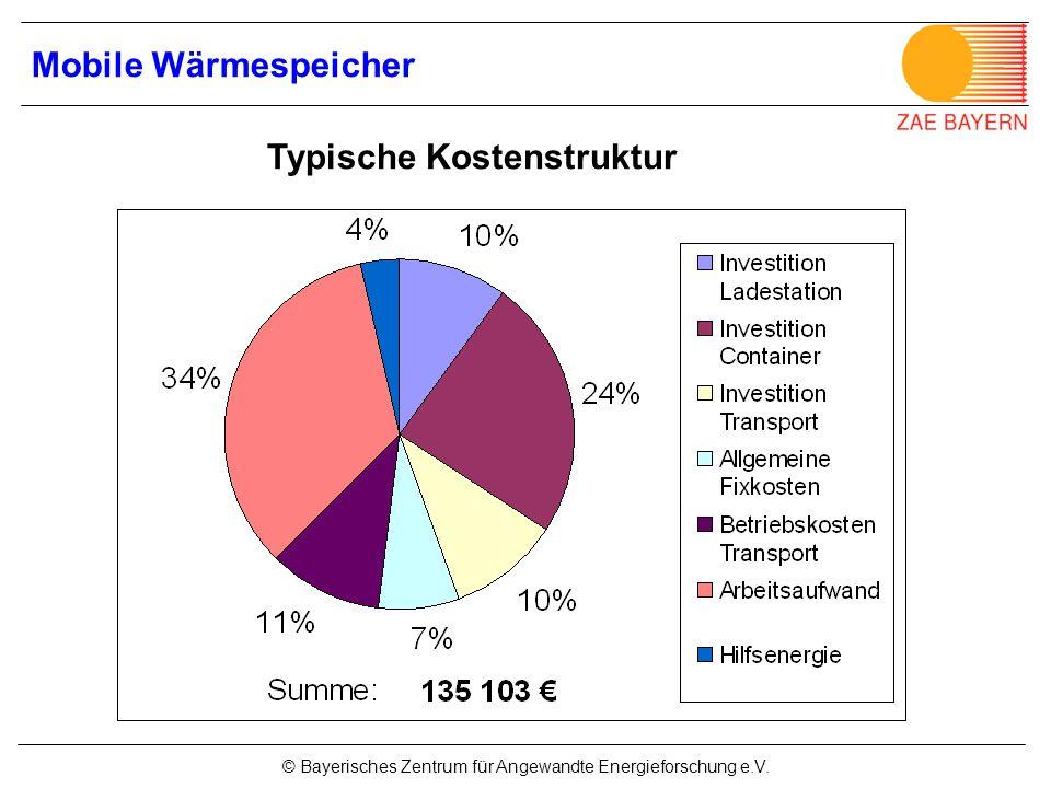 Typische Kostenstruktur