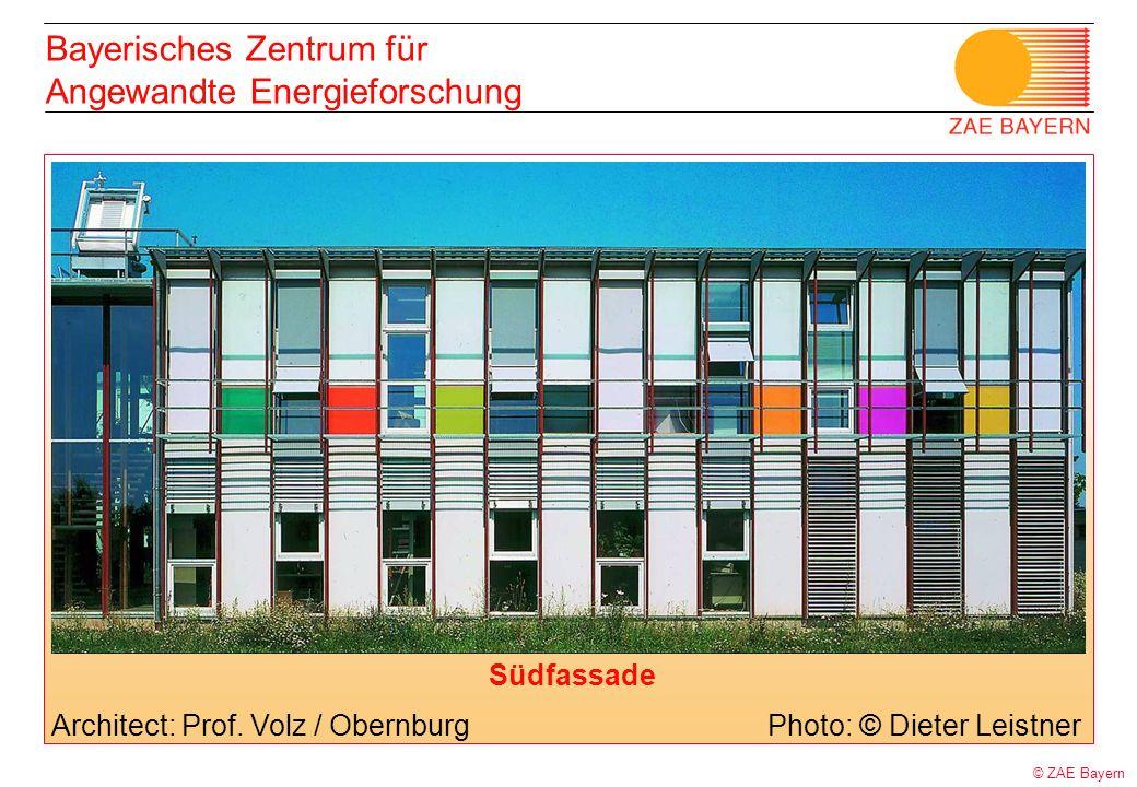 Bayerisches Zentrum für Angewandte Energieforschung